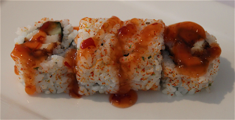 Foto Spicy Chicken Maki (4 stuks)